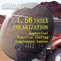 1.56 рецепт поляризованные очки линзы вождения поляризационные линзы lentillas де colores оптические линзы