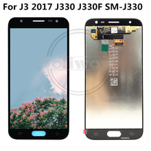 Adjust Brightness FOR For Samsung Galaxy J3 2017 LCD J330 J330F J330G Display Touch Screen Digitizer Assembly