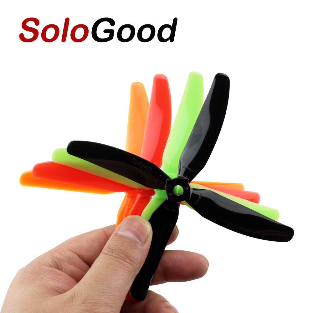 10pcs 5 Pair <font><b>5040</b></font> 4 blades V2 <font><b>Prop</b></font> CW/CCW Propeller For RC Quadcopter Multi-Copter image
