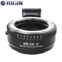 Viltrox NF-NEX Lens Adapter w/ Tripod Mount Aperture Ring For Nikon F AF-S AI G Lens to Sony E NEX Camera A7 A7R NEX 7 6 5 3