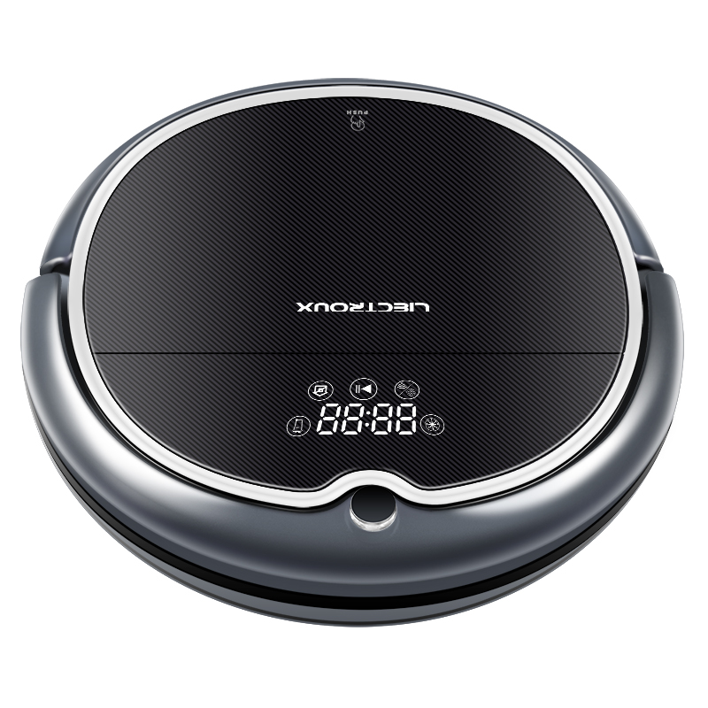Купить с кэшбэком (Free All) LIECTROUX Robot Vacuum Cleaner Q8000 WiFi,Wet Dry Mop,2D Gyroscope Map Navigation,Localization,Memory,Remote,Virtual