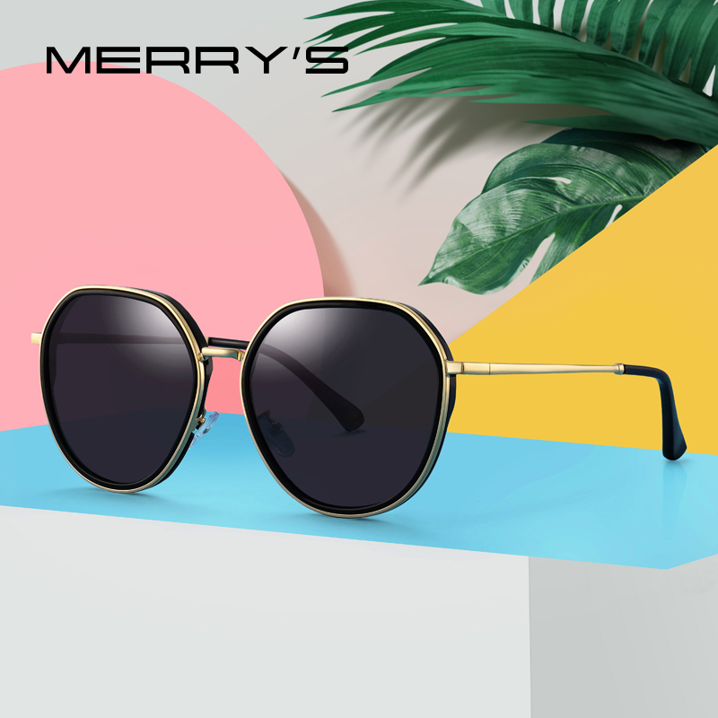 MERRYS DESIGN 2019 New Arrival Women Fashion Trending Sunglasses Ladies Luxury Polarized Sun glasses UV400 Protection S6285