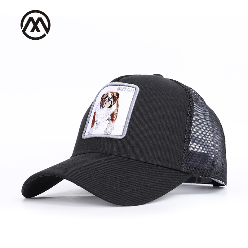Fashion men's   baseball     caps   classic BUTCH embroidery men's and women's universal net hats for men's breathable adjustable bone