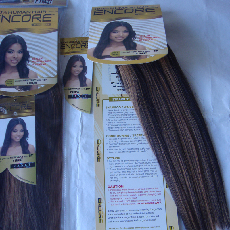 Promotion 4packs 10 janet collection encore pro mix pfr427 remy promotion 4packs 10 janet collection encore pro mix pfr427 remy hair blended futura heat resistant yaki straight hair weave on aliexpress alibaba pmusecretfo Images