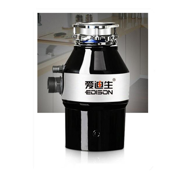 220V Garbage Processor Kitchen Food Waste Disposer 3/4HP 3200Rpm Household Food Waste Processor Kitchen Tool Sound Insulation