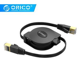 5a219757af7 ORICO CAT6 Cable Ethernet portátil retráctil LAN Ethernet de red de  Internet de Cable para computadora portátil Router de red Cables 1000 Mbps 2  M