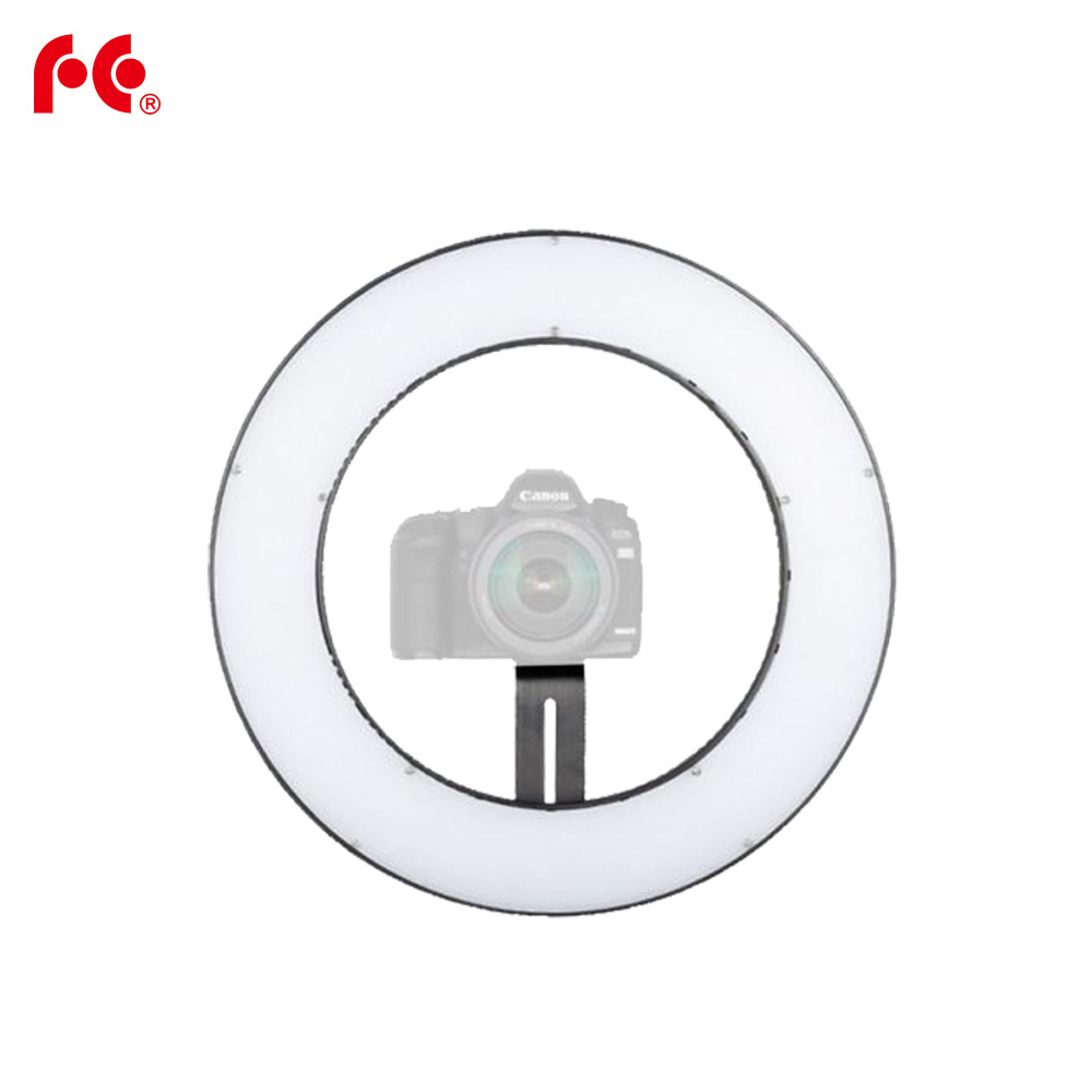 23 W 112 anneau LED panneau éclairage 3000-5600 K Dimmable Photo vidéo Film Studio photographie lumière continue DVR-112TVC