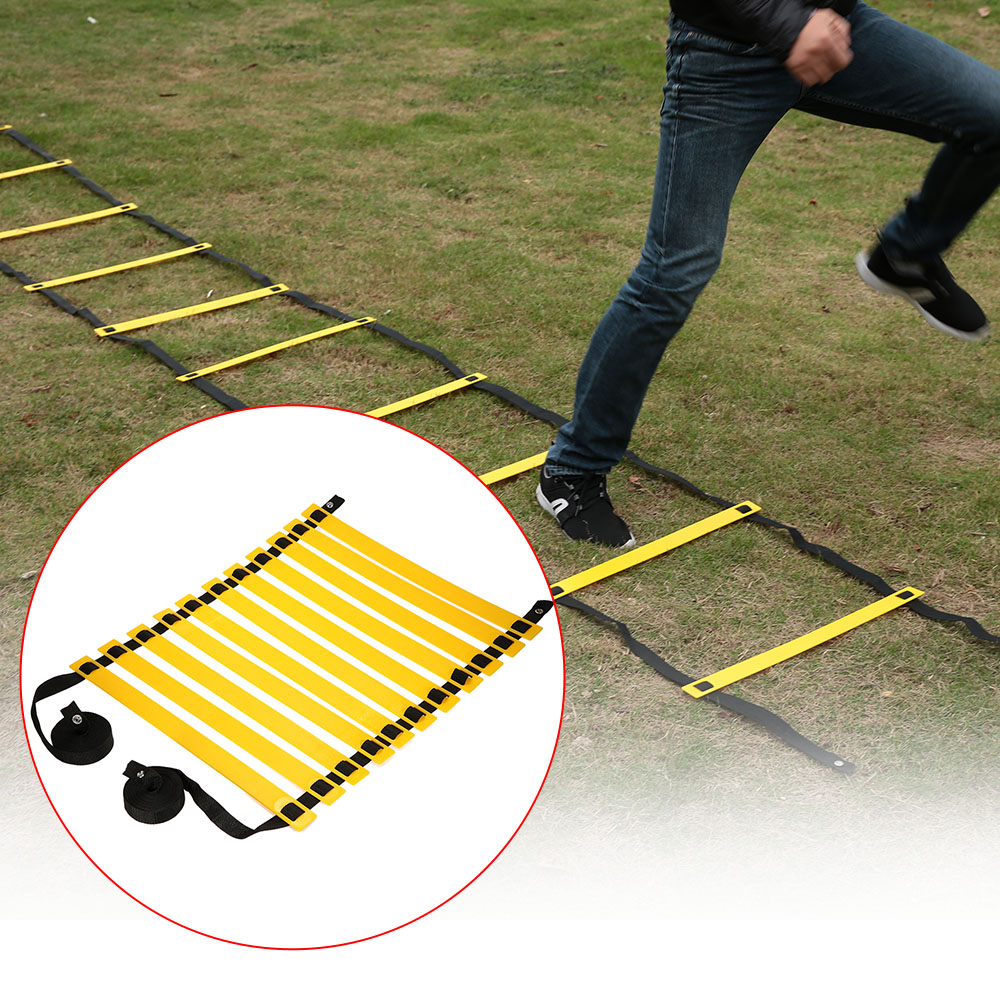 7 Rung 4meter Agility Ladder For Soccer Speed Training Football Fitness Feet Training Equipment