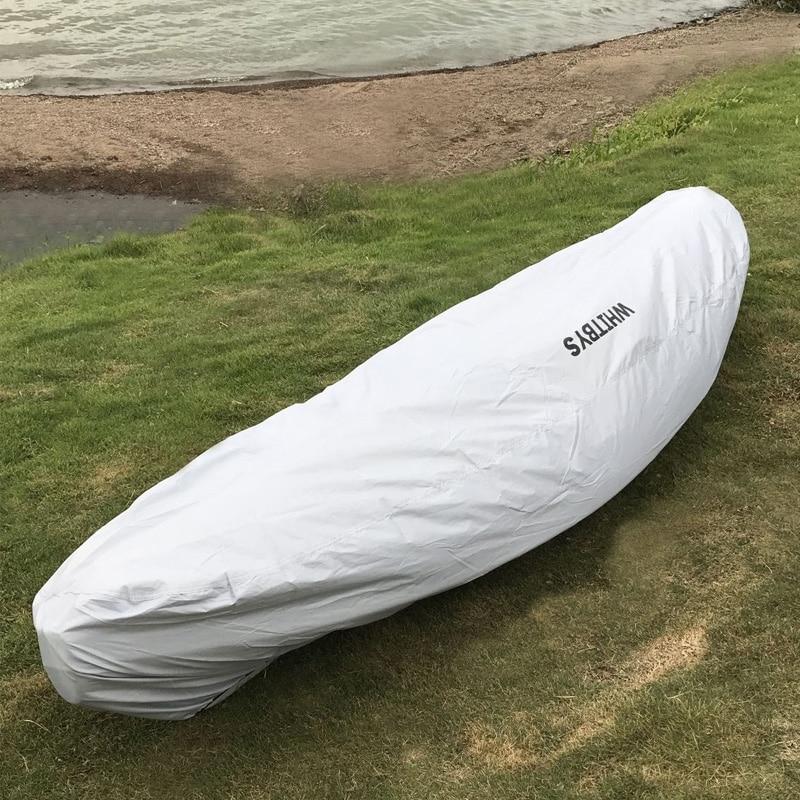 קיאק כיסוי UV השמש הגנה קיאק סירות Sup עזר אביזר אוניברסלי אחסון כיסוי סירה כיסוי 8 'עד 13'