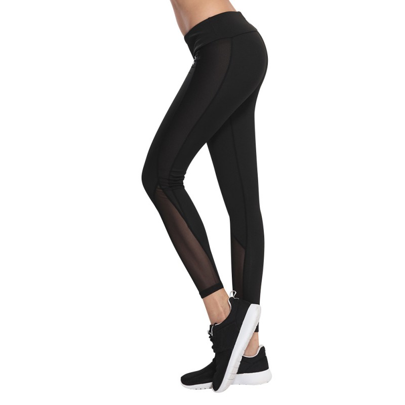 Woman Fitness Yoga Sports Leggings Compression Pants Women Sports Gym Tights Woman Sportswear Sports Slim Mesh Yoga Pants