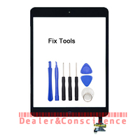 LOVAIN 1PCS Original Tested For Apple IPad Mini 1 2 Mini1 Mini2 Touch Screen Digitizer Panel