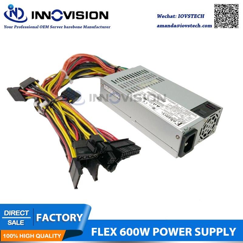 New ENP 7660B 1U mini flex 600w power supply with 2*6+2 GPU Connector
