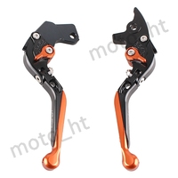 CNC Adjustable Folding Extendable Brake Cutch Levers Set For KTM 125 200 390 DUKE 2013 2014