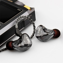 Newest TRN X6 6BA Driver Unit In Ear Earphone 6 Balanced Armature HIFI Monitor Stage Sports Running Resolution Detachable cable newest yinyoo hq6 6ba in ear earphone custom made balanced armature around ear earphone with mmcx plug earphone