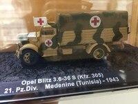 1:72 alloy military high simulationedu World War II German Ambulance Truck Model Blitz 1943,cational toys vehicles,free shipping