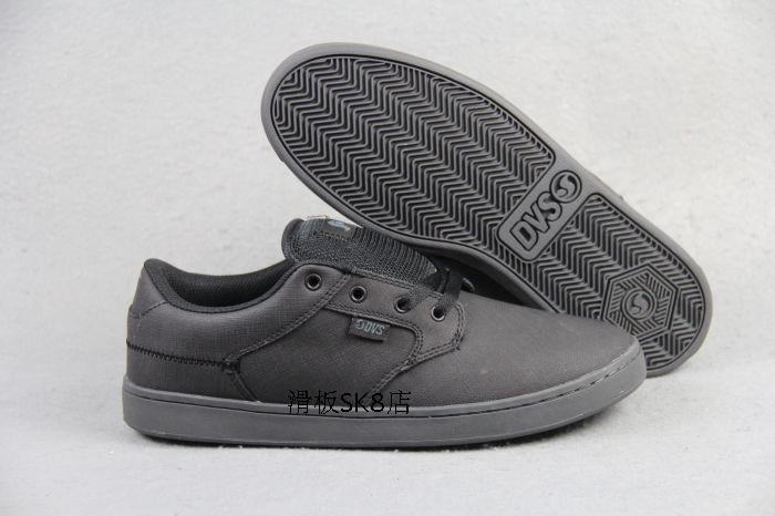 ФОТО US Size 8.5/9 2016 DVS QUENTIN Teenager Shoes Shock-Absorbant Black Shoes Hard-Wearing Footwear