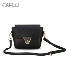 2017 New Brands Women Messenge Bags Fashion Female Leather Shoulder Bags Crossbody Bags Ladies Handbags Small Clutch Purses Mini