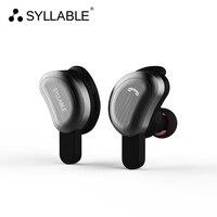 SYLLABLE True Wireless Stereo D9 Bluetooth Earphone IPX4 Waterproof In Ear Wireless Earbud Bluetooth Headset Two