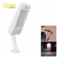 900lm 48Led Solar Wall Light Outdoor Waterproof Lighting For Garden 4 Modes With Rotable Pole Solar Powerful Lamp