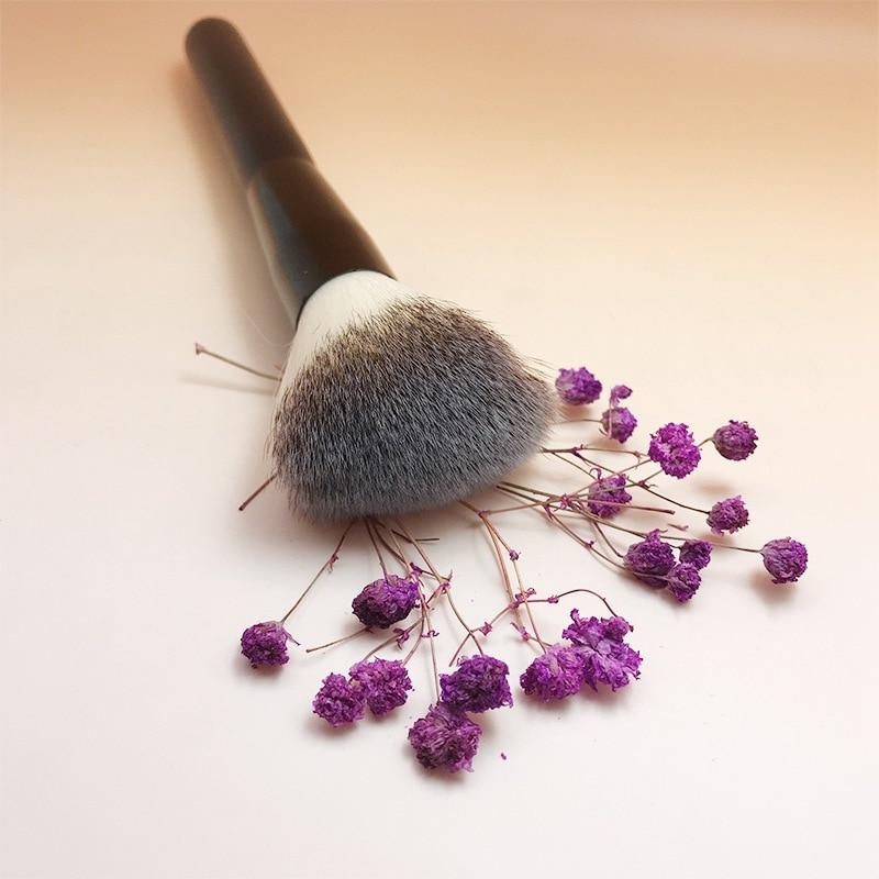 Brainbow 1pc Maquillaje Pincel Polvo Blush Brush 3 colores Nylon - Maquillaje - foto 5