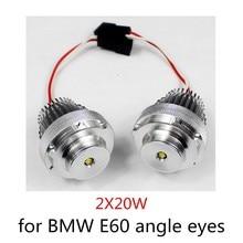 1 Set Angel Eyes for BMW E60 10WX2 LED Marker bulb car light auto vehicel new arrival hot sale