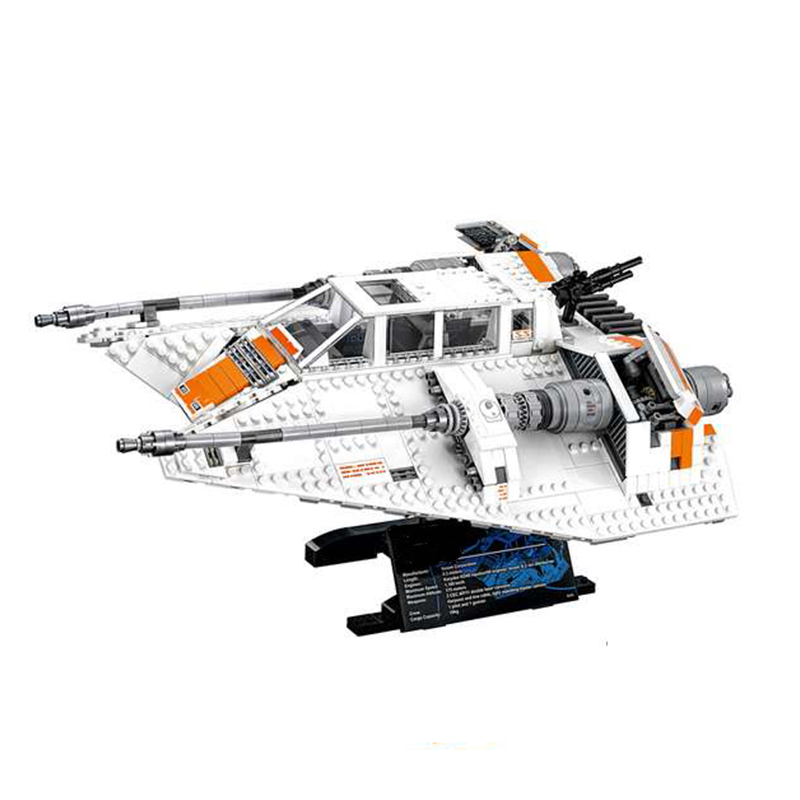 2017 NEW LEPIN 05084 1457Pcs UCS Star Series War The Rebel Snowspeeder Model Building Kit Set Blocks Bricks Toys DHL delivery star space war series the rebel snowspeeder set educational building blocks bricks boy toys model gifts compatible lepins 10129