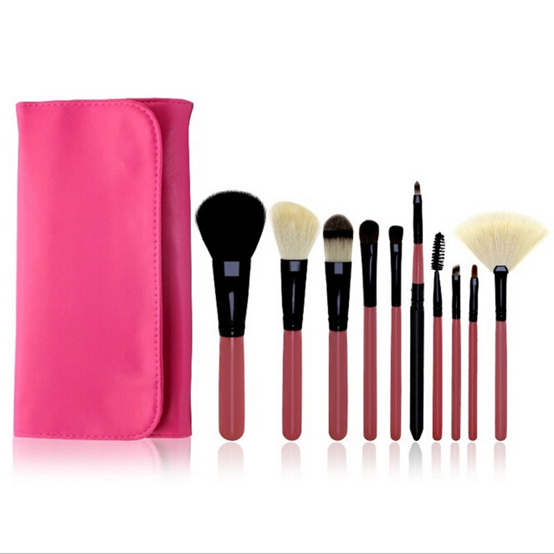 Eyebrow Foundation Shadows Eyeliner Make Up Brushes Tool Sets & Pouch Bags Makeup Brushes Set Cosmetics Brush Accessories EE4