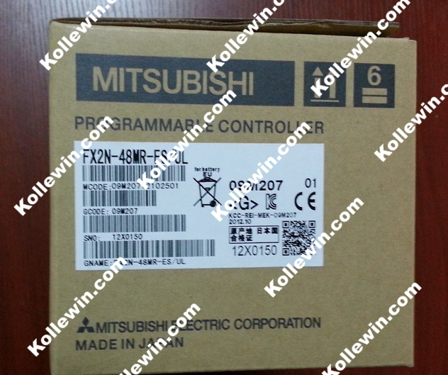 MELSEC PLC Module FX2N-48MR-ES/UL, FX2N-48MRES/UL 24POINT IN 24POINT OUT 100-240VAC, FX2N48MRES/UL, FX2N48MRESUL New in box ul