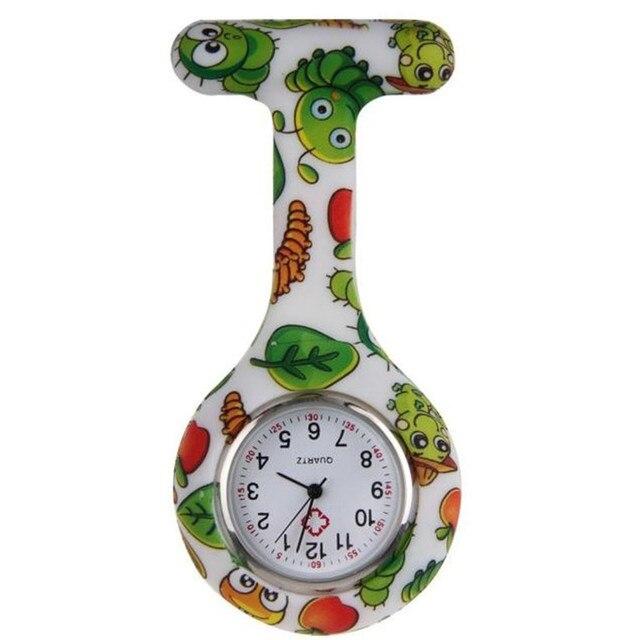 Nurse Watches Women Silicone Gift Clip-on Fob Medical Nursery Clocks Fashion Car