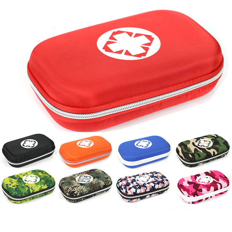 First Aid Kit Portable Emergency Medical Kit Treatment Pack Set For Family Household Car Outdoor Travel Camping Medical Supplies 24set 96pcs ptb bandages for emergency kit non woven plaster first aid kit supplies medical tape 15cm 10cm 7 5cm 5cm mixed
