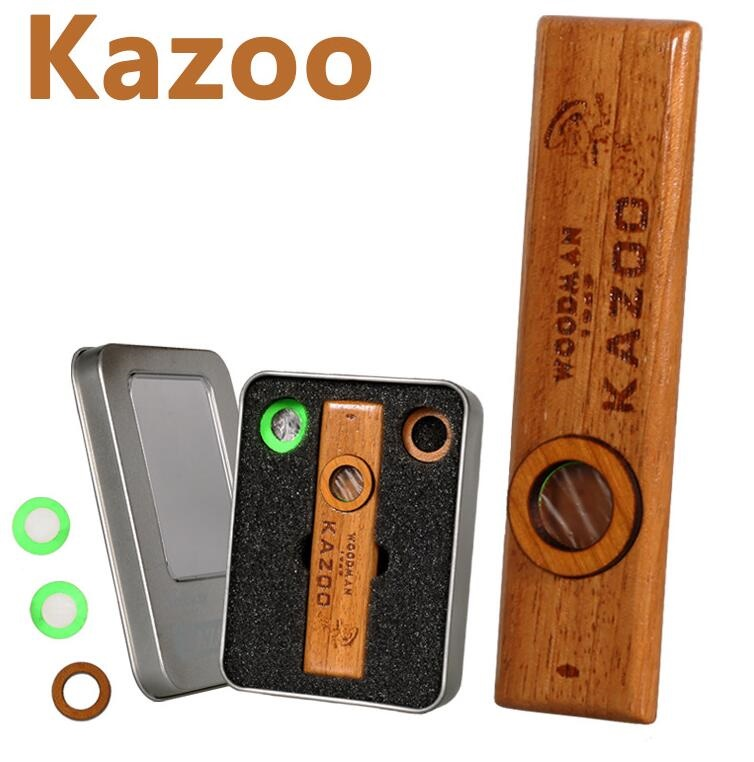 Woodman Wooden Kazoo კარგად თამაშობს Ukulele- სთან