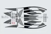 Livraison Gratuite Moto Stickers Autocollants Pour HONDA CB400 Ensemble kits Noir Argent Muet Rouge