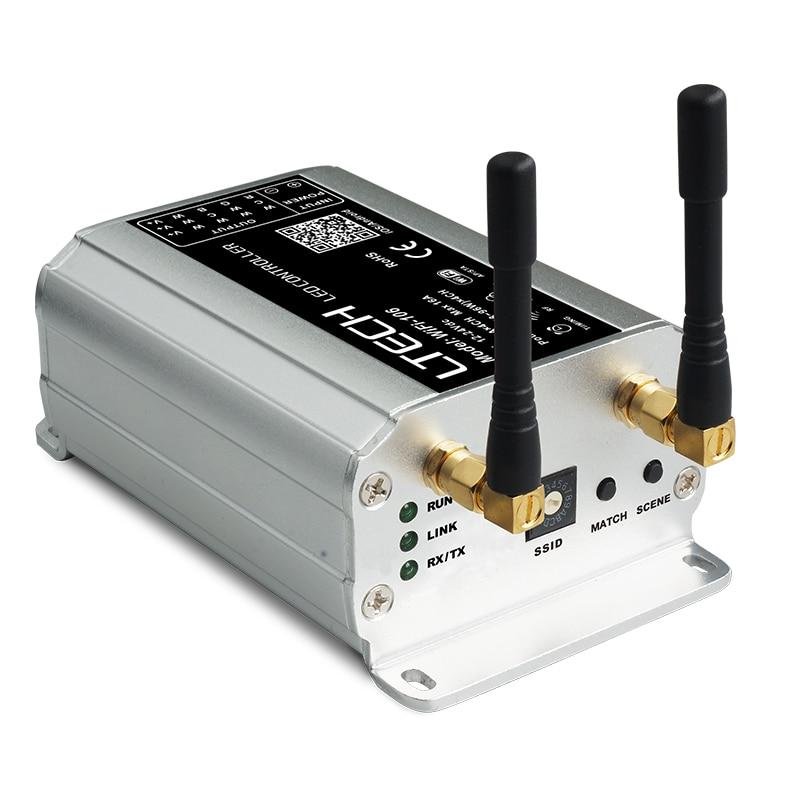 Nova WiFi 106 LED wifi controlador com RF remoto F12; 2.4GHz Receptor Sem Fio, sistema de Controle de painel de toque RGB Levou Iluminação de tira - 2