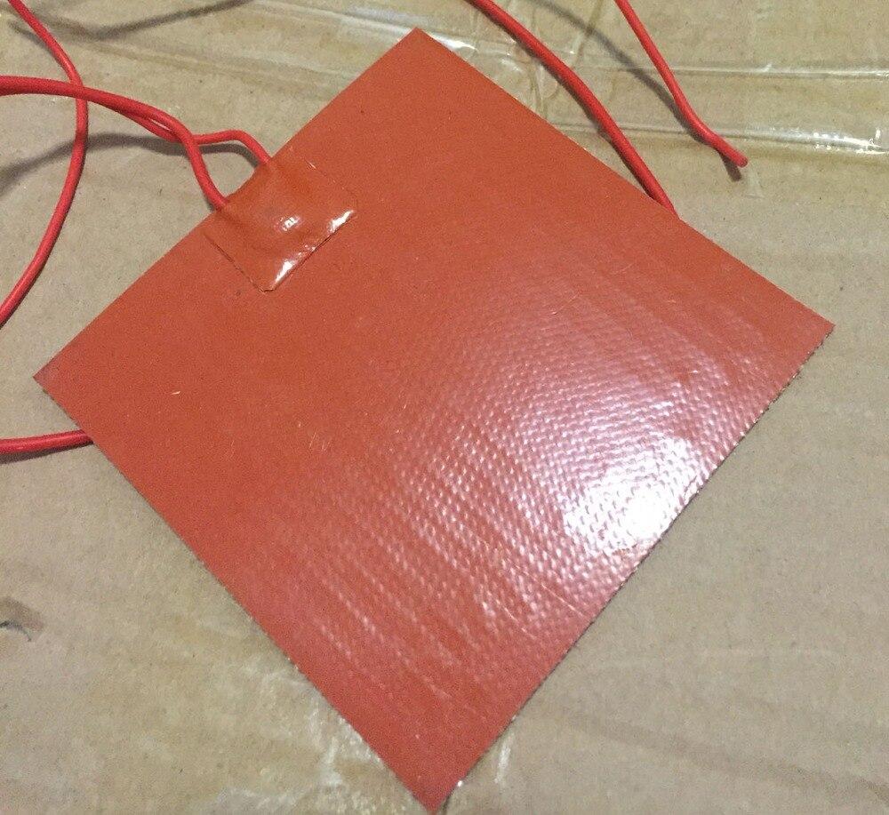Silicone riscaldamento pad riscaldato letto Stampante 3d letto riscaldato 320x320 millimetri 220 v 800 w stampo In Resina di preriscaldamento