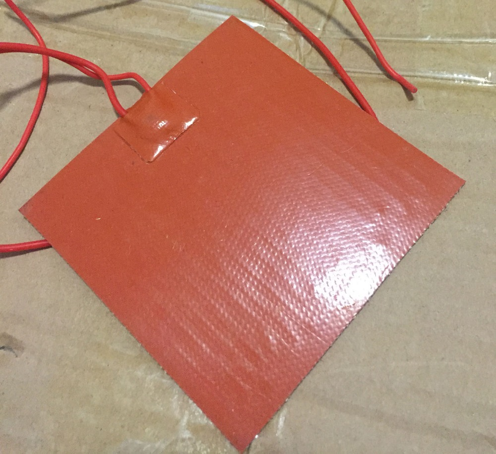 ФОТО silicone heating pad heated bed Stampante 3d letto riscaldato 320x320mm 220 v 800 w Resin mould preheating
