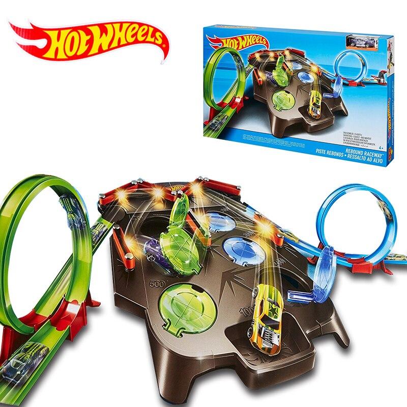 Hotwheels CARROS трек модели автомобилей поезд дети Пластик металлическая игрушка-автомобили-Лидер продаж Wheels Hot Игрушечные лошадки для детей juguetes...