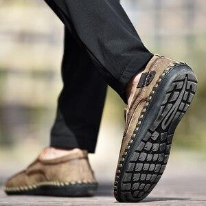 Image 5 - ผู้ชายCasualรองเท้าLoafersรองเท้าผ้าใบ 2020 ใหม่ผู้ชายแฟชั่นหนังสบายLoafersรองเท้าสบายๆZapatos De Hombreผู้ชายรองเท้า