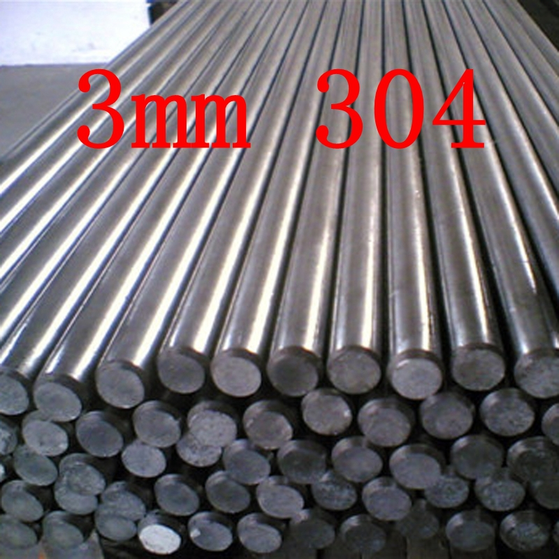3MM STAINLESS STEEL ROD BAR SHAFT MODEL MAKER
