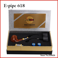 Newest Generation E pipe 618 Electronic Cigarette Old-fashioned Smoking Pipe Electronic Smoking Pipe Starter Kit