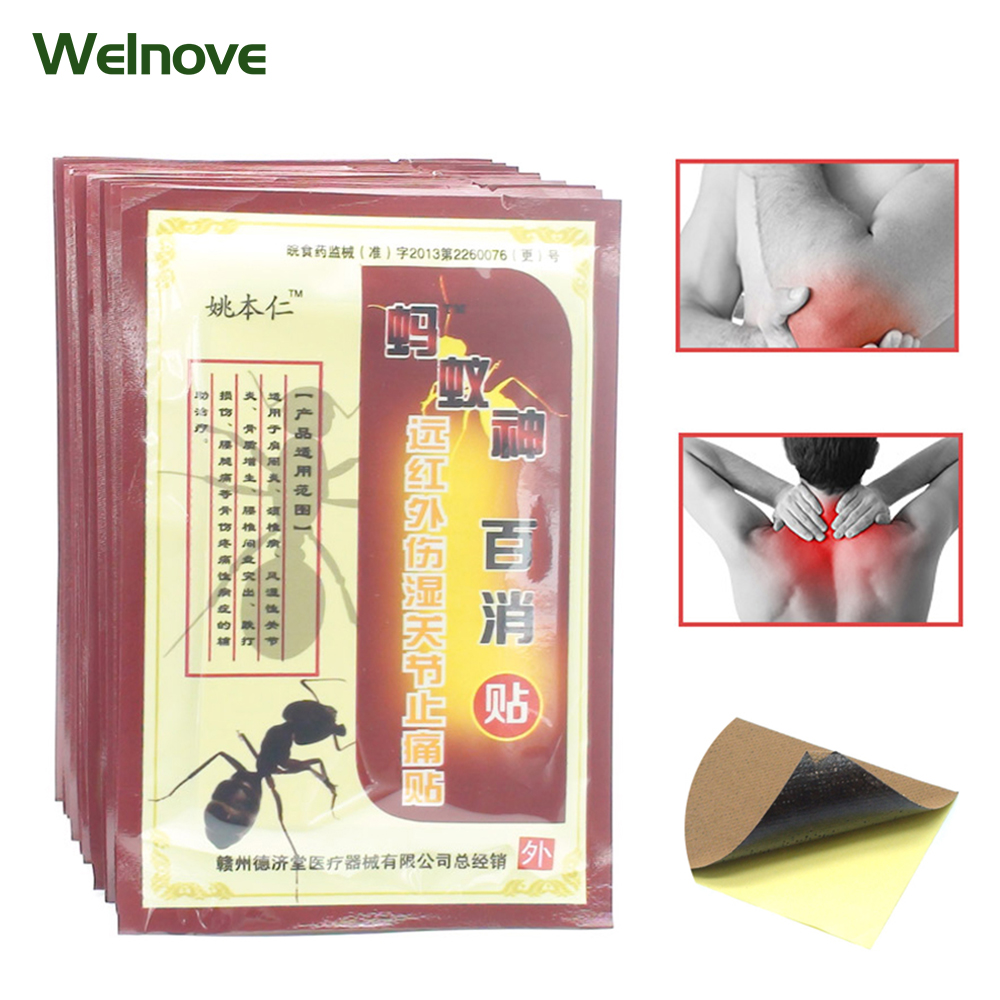 Traditional Plaster Mayi Baixiao Tie Relaxation Capsicum Herbs Plaster Joint Pain Killer Back Body Massager C509 bone joint pain liquid calcium with vitamin d3 body relaxation