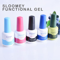 SLOOMEY 5psc Gel Nail 18ml Top Base Coat Foundation for UV LED Soak off Gel Polish Best on Ali New Style Nail Lacquer Varnish