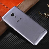 Official Meizu Back Battery Cover For Meizu M3s Mini Original Metal Phone Case For Meilan 3s