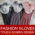Women Gloves 2016 Thermal Soft Lined Winter Leather Glove Wrist Solid Fashion Dressing Lambskin Free Shipping Touch screen