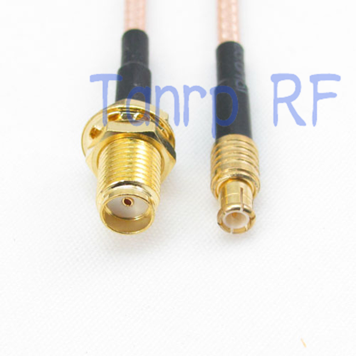 6in SMA female jack  to MCX male plug RF adapter connector 15CM Pigtail coaxial jumper cable RG316 extension cord 4 200 4 200 500