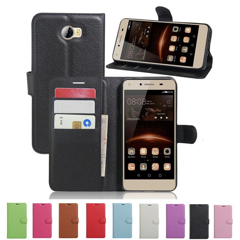 Huawei Honor 5A LYO-L21 Funda de lujo de cuero de la PU Funda trasera - Accesorios y repuestos para celulares