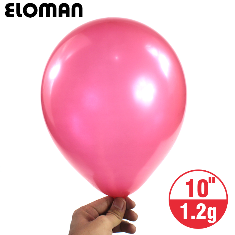30PCS/lot 10inch 1.2g Pearlized balloons Helium Wedding Decorations Metallic Ball Baby birthday party Toy Latex Ballon