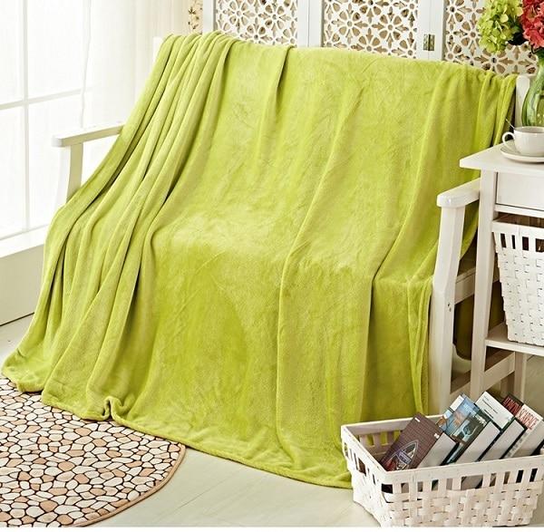 hot sale fleece warm blanket super soft carpet on the bed throw