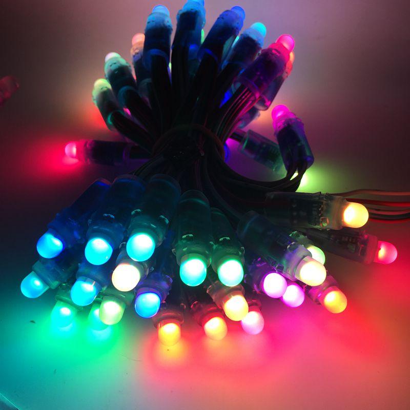 50pcs LED Pixel Strip Light Module 12mm WS2811 IC Full Color RGB DC 5V Digital