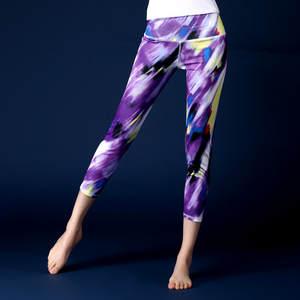 c84584d2d53b4 3D Print Yoga Pants Women Quick Dry Yoga Leggings Running Sport Tights