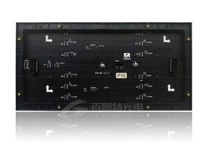 Image 2 - 2 adet/grup P10 led ekran panel modülü kapalı 320*160mm 32*16 piksel 1/8 tarama SMD3528 RGB P10 tam renkli LED ekran panel modülü